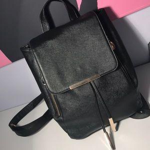 Handbags - Black Mini Backpack✨